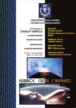 Elviro Langella, Kubrick. Oltre l'infinito
